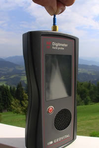 The HF Field Probe is a unique EMF meter that can assess RF in the body