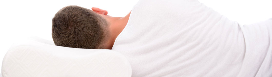 Healthier sleeping with the proper support of the neck