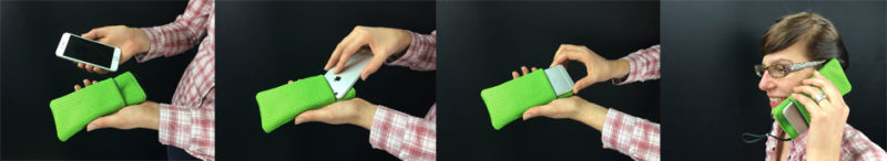 How to use a mobile phone radiation shielding pouch correctly.