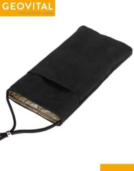 Mobile Phone Pouch with RF Shielding - Black