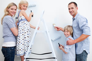 Family completes the shielding of a bedroom against radio frequency radiation from phone towers and smart meters